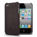 SGP iPhone 4 Nature Just Leather Case Series [Nature Brown] (SGP07981)